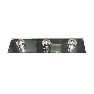 3-Light Chrome Bath Light