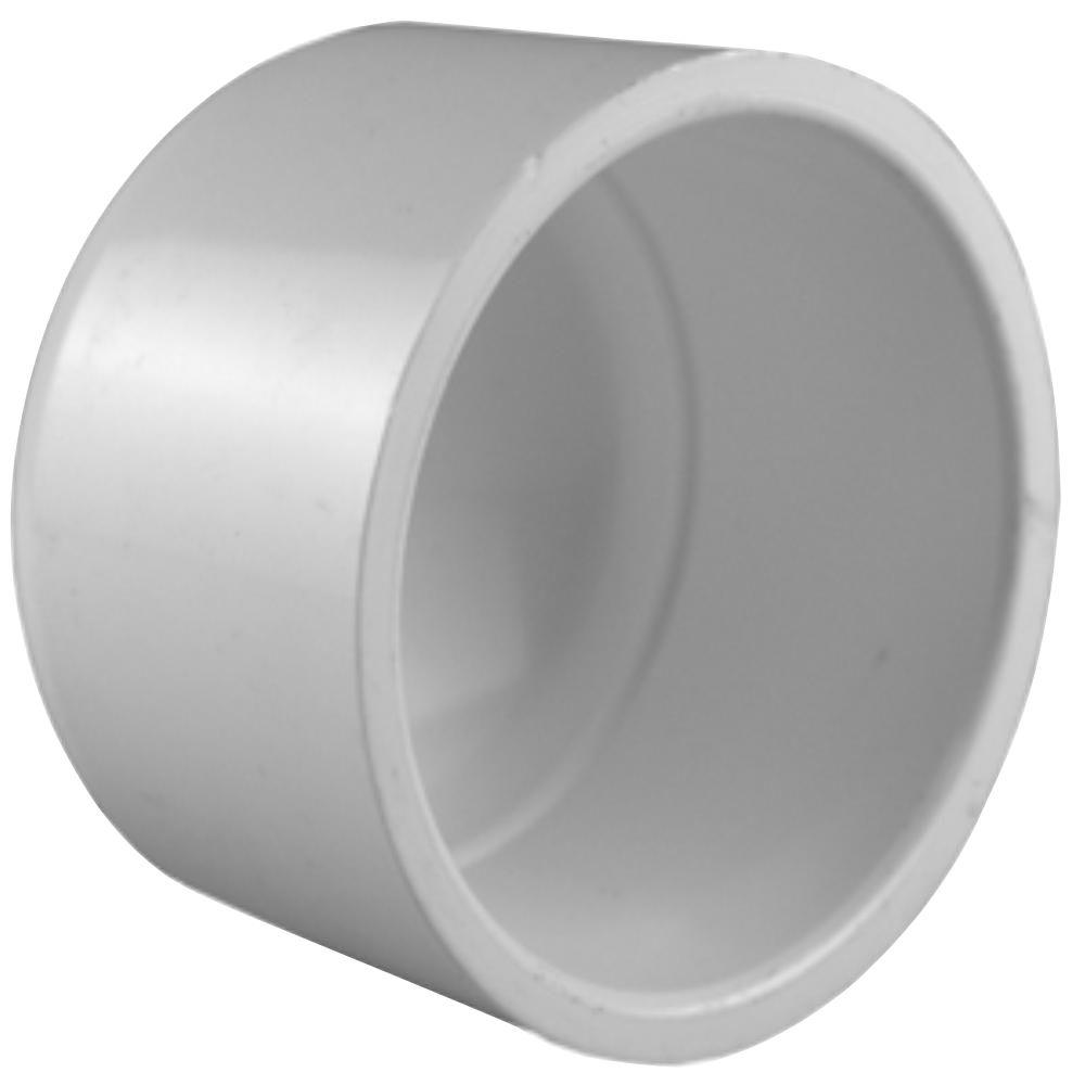 Charlotte Pipe 2 in. PVC Sch. 40 Socket Cap
