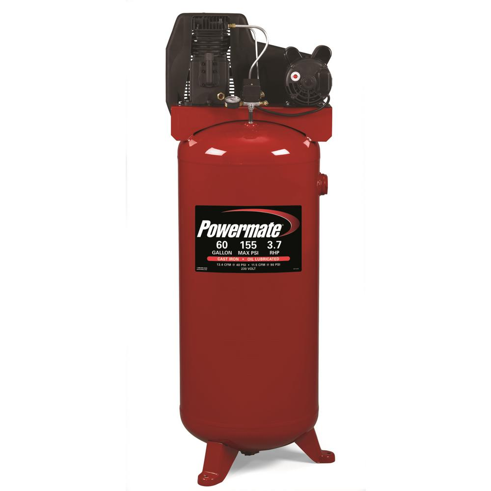 Powermate 60 Gal. Stationary Electric Air Compressor