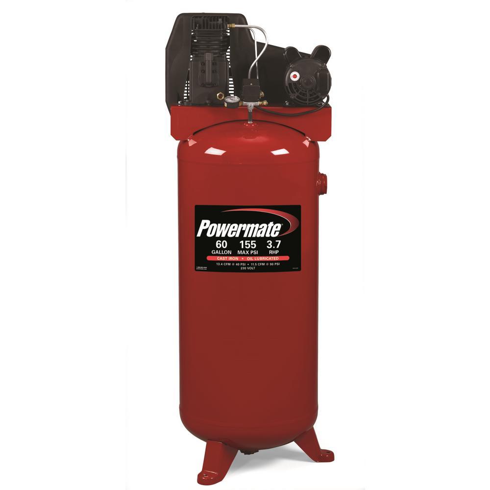 powermate air pressors air pressors tools accessories  60 gal stationary electric air pressor