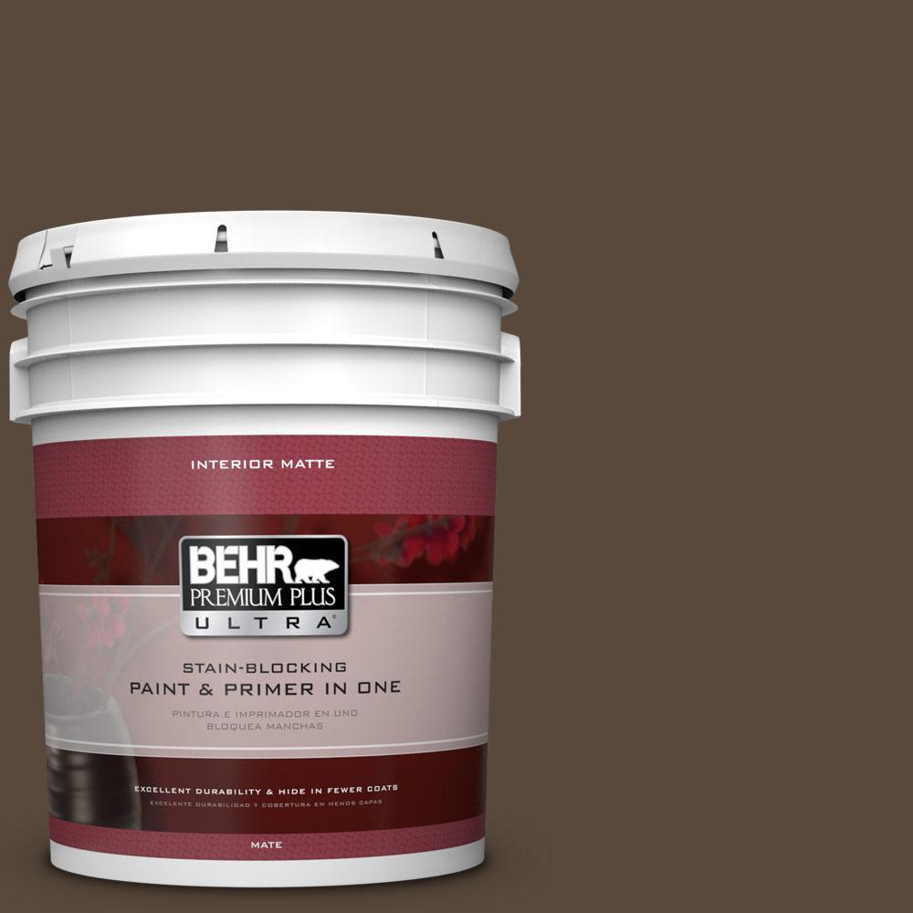 BEHR Premium Plus Ultra 5 gal. #ECC-44-3 Osprey Flat/Matte Interior Paint