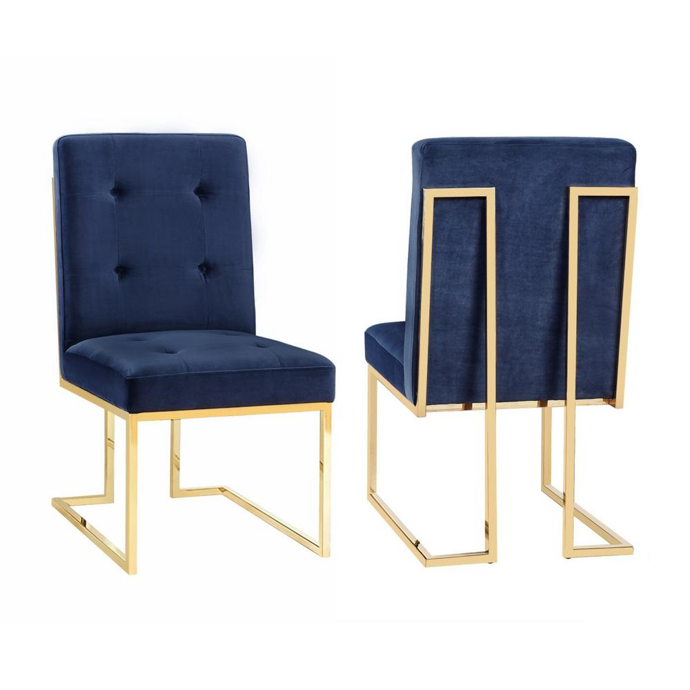 tov furniture akiko navy velvet chair. tov furniture akiko navy velvet chairtovd  the home depot