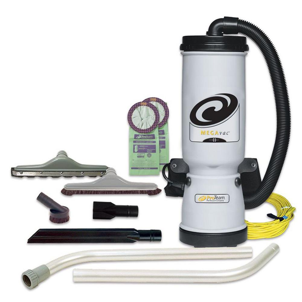 Hoover Commercial Hushtone 6 Qt Backpack Vacuum Cleaner Ch34006 This Is Gooda Vaccuum Wiper Switch Cable Operated There No Megavac 10 Vac With Blower Tool Felt And Horse