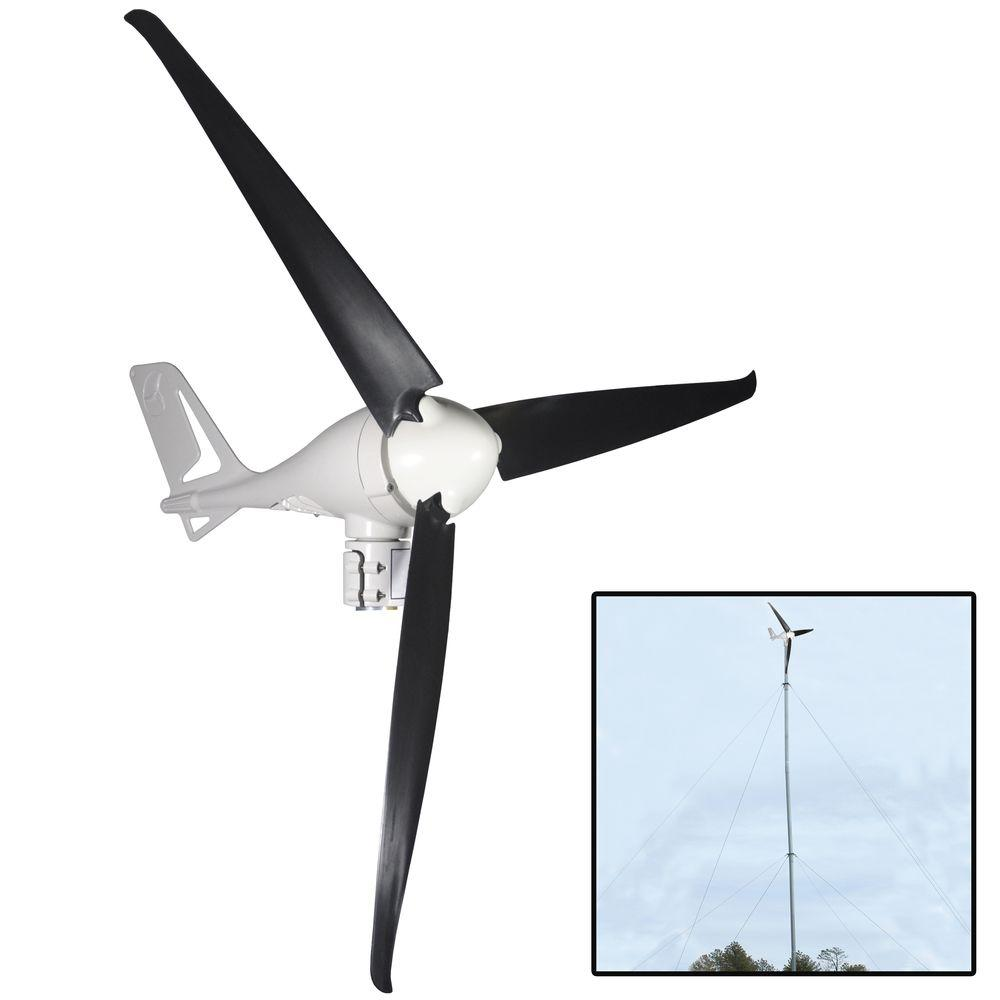 400-Watt Wind Turbine with 30 ft. Tower Kit