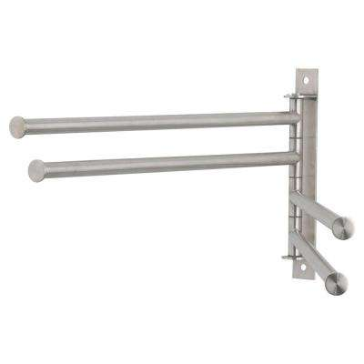 4 Bar Clothes Dryer in Stainless Steel