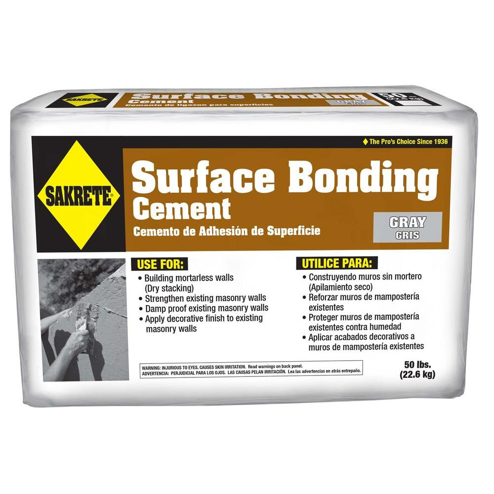 SAKRETE 50 lb. Surface Bonding Cement in Gray