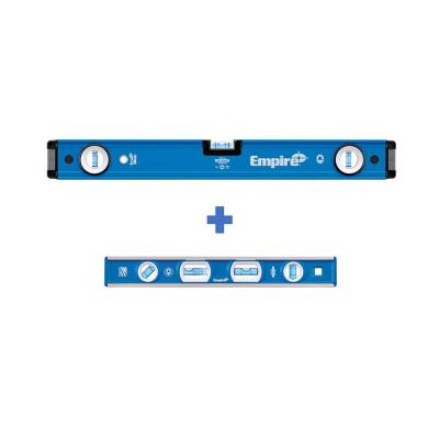 24 in. Magnetic Box Level with 12 in. Magnetic Level