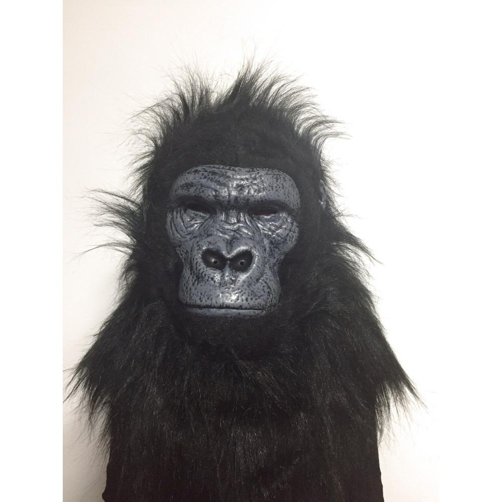 Home Accents Holiday 5 in. Animalistic Masks-Gorilla