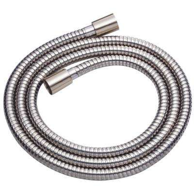 Metal Interlock Hose in Brushed Nickel