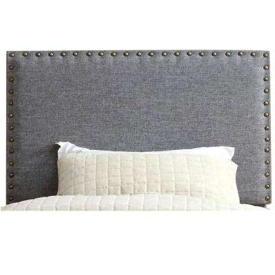 Herstal Contemporary Gray Full Queen Headboard