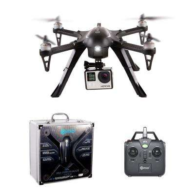 F17 RC Quadcopter Photography Drone w/ 4K Camera, Brushless Motors, 360 Stunts, 1 High Capacity Battery w/ GoPro Mount