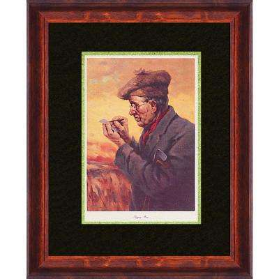 25.5.in x 20.in''The Bogey Man'' By PTM Images Framed Printed Wall Art