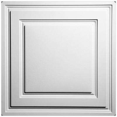 Stratford White Feather-Light 2 ft. x 2 ft. Lay-in Ceiling Panel (Case of 10)