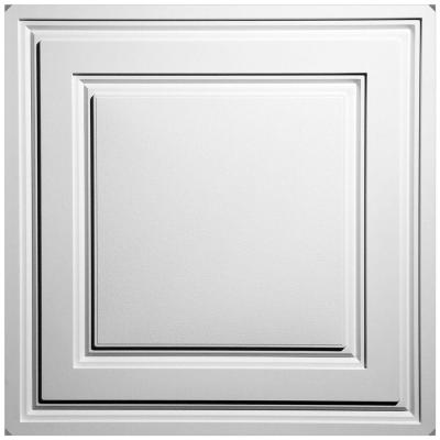 Stratford White Feather-Light 2 ft. x 2 ft. Lay-in Ceiling Panel (Case of 40)