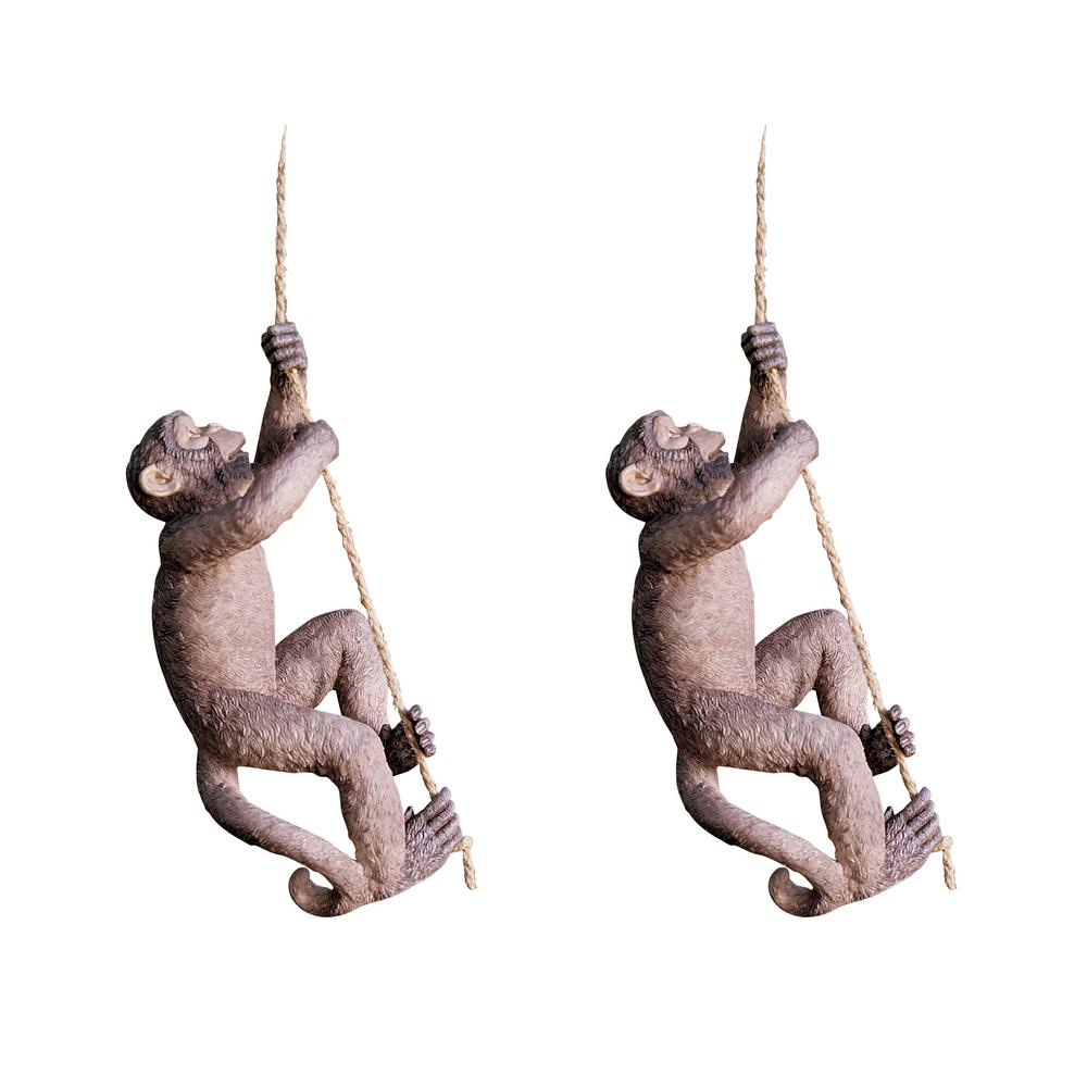 Design Toscano Makokou The Climbing Monkey Statue