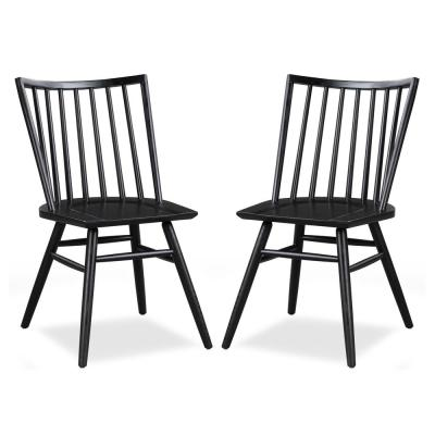 Talia Dining Chair in Black (Set of 2)