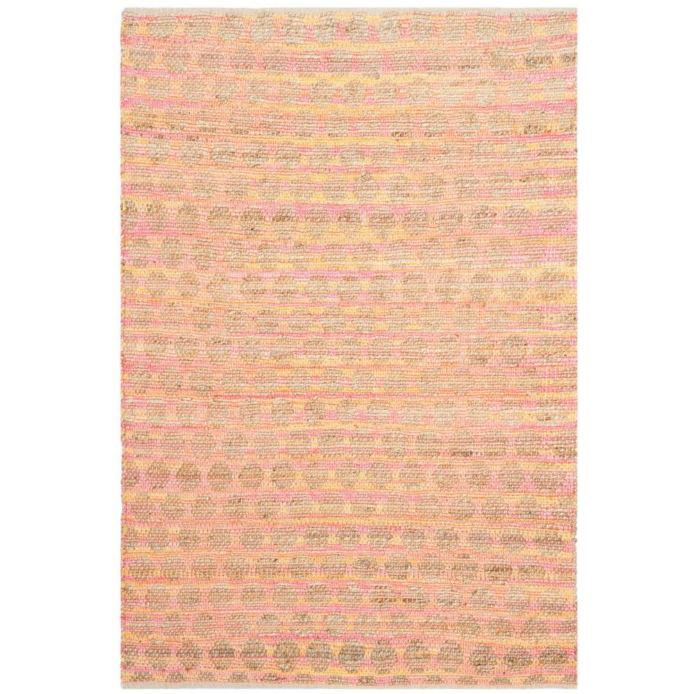 Cape Cod Orange/Natural 4 ft. x 6 ft. Area Rug
