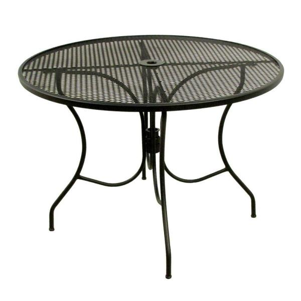 Round Mesh Patio Dining