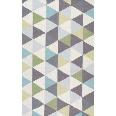 Anderson Green 9 ft. 6 in. x 13 ft. 6 in. Area Rug