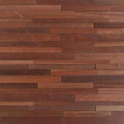 Take Home Sample - Deco Strips Alamo Engineered Hardwood Wall Strips - 5 in. x 7 in.