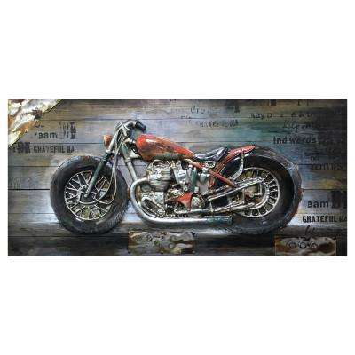 """Bike Passion II"" by Unknown Artist Wood Wall Art"
