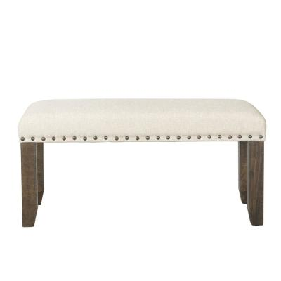 Dex Smokey Walnut Bench