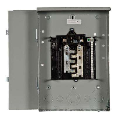 ES Series 100 Amp 12-Space 24-Circuit Main Breaker Outdoor Load Center