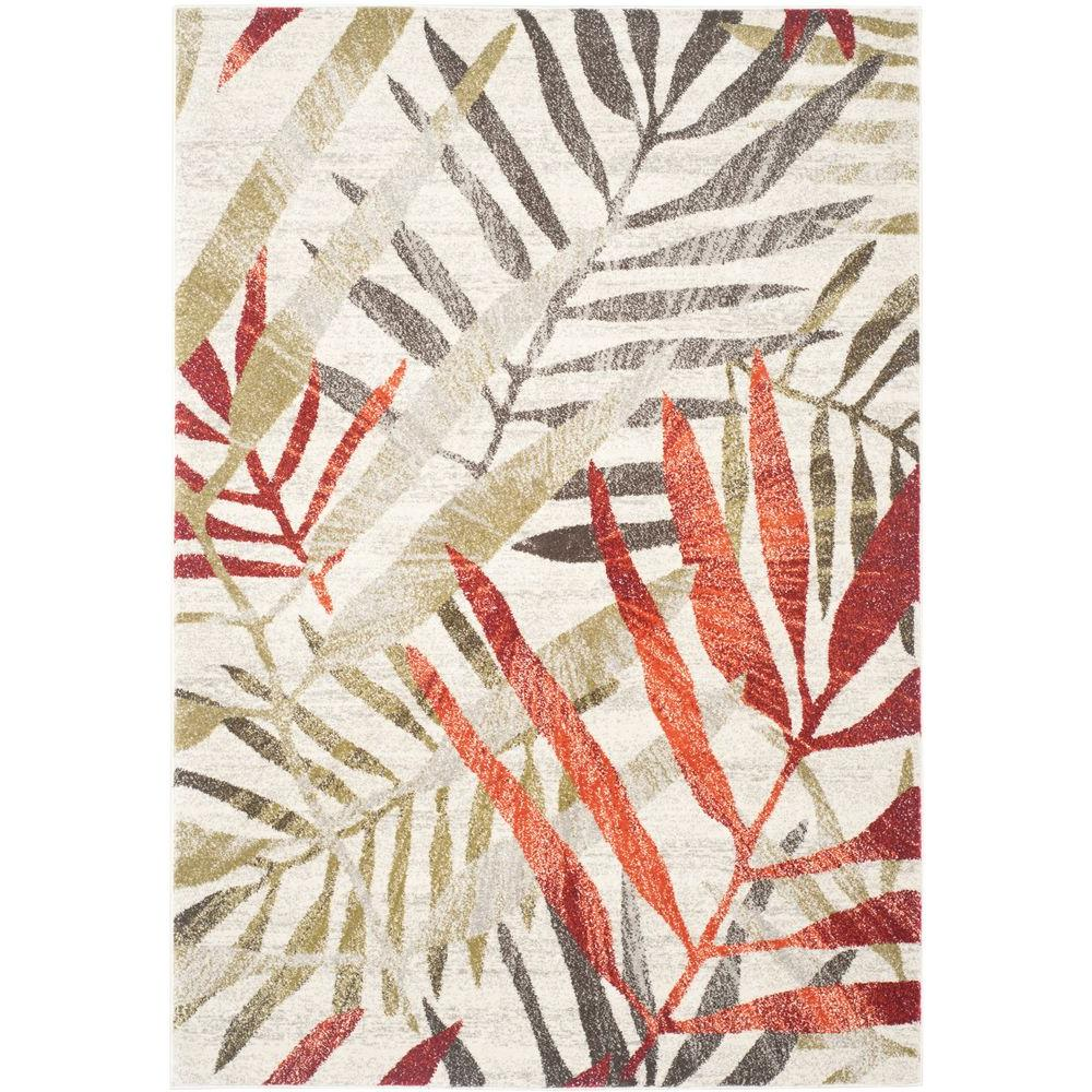 Safavieh Porcello Ivory/Green 8 ft. x 11 ft. 2 in. Area Rug