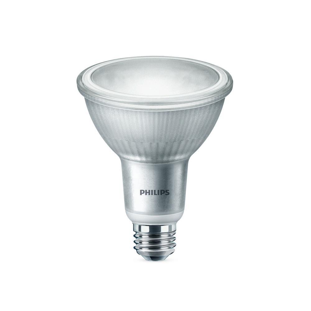 75-Watt Equivalent PAR30L LED Warm Glow Light Bulb Bright White (6-Pack)