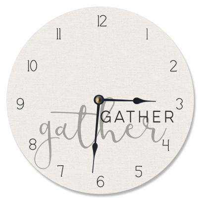"""Gather Together"" by Daphne Polselli Wall Clock"