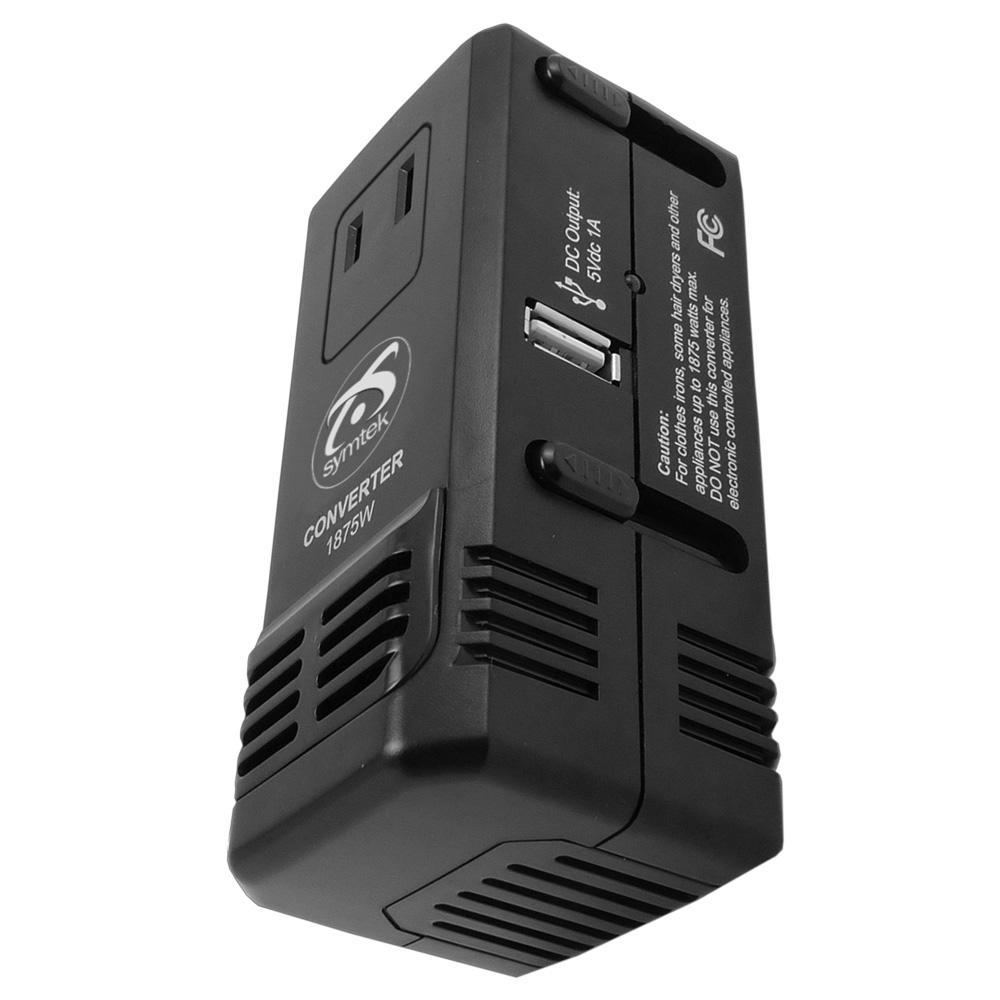 WorldPlug HDVC Universal Travel Voltage Converter