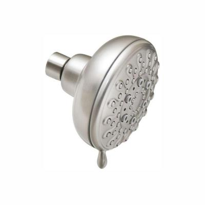 Banbury 5-Spray 4 in. Single Wall Mount Fixed Shower Head in Spot Resist Brushed Nickel