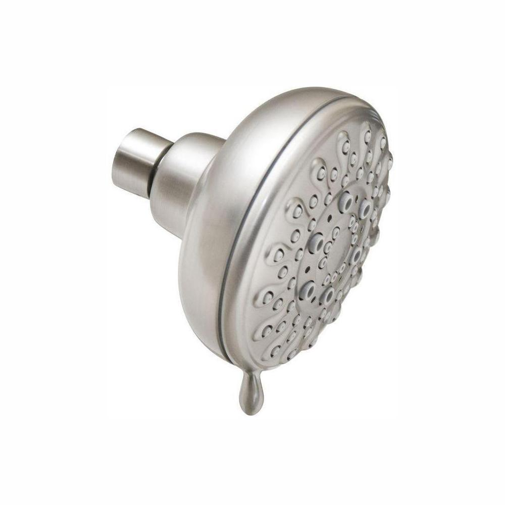 MOEN Banbury 5-Spray 4 in. Showerhead in Spot Resist Brushed Nickel