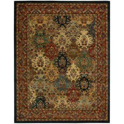 India House Multicolor 8 ft. x 11 ft. Area Rug