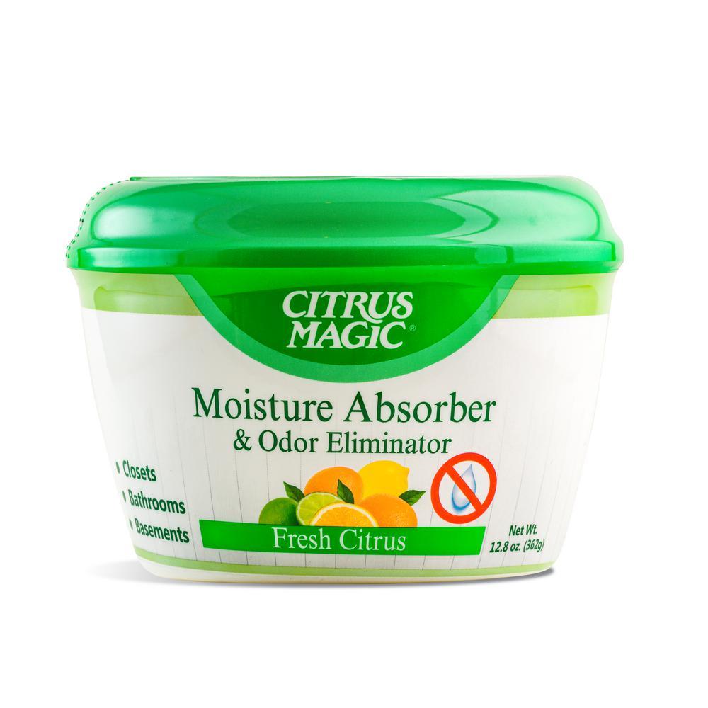CitrusMagic Citrus Magic 12.8 oz. Fresh Citrus Triple Action Moisture and Odor Absorber, Green
