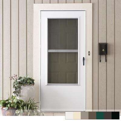 Merveilleux 200 Series 3/4 View Triple Track Storm Door