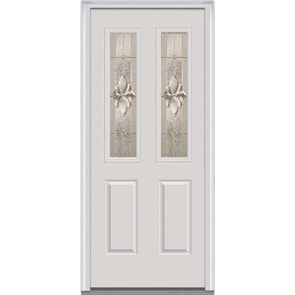 32 in. x 80 in. Heirloom Master Right-Hand 2-1/2 Lite 2-Panel