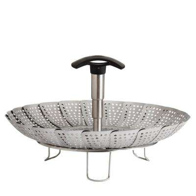 Good Grips Stainless Steel Steamer with Extendable Handle