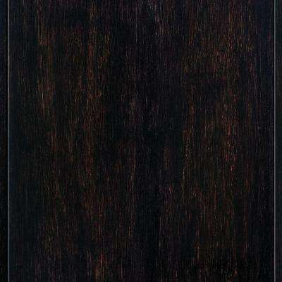 Strand Woven Espresso 3/8 in. Thick x 4-3/4 in. Wide x 36 in. Length Click Lock Bamboo Flooring (19 sq. ft. / case)