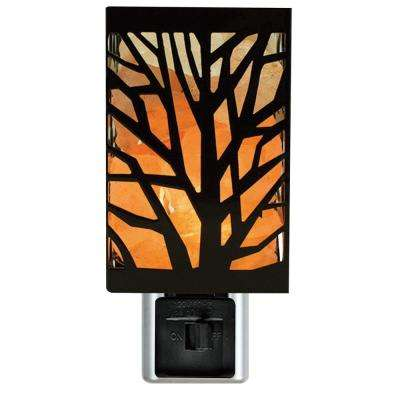 7-Watt Incandescent Tree Design Salt Night Lamp