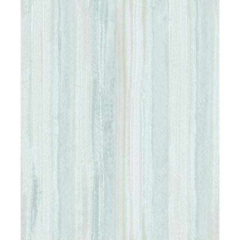 Advantage 8 in. x 10 in. Donella Light Blue Stripe Wallpaper