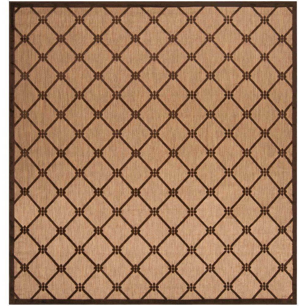 Artistic Weavers Xalapa Natural 7 ft. 6 in. x 7 ft. 6 in. Square Area Rug
