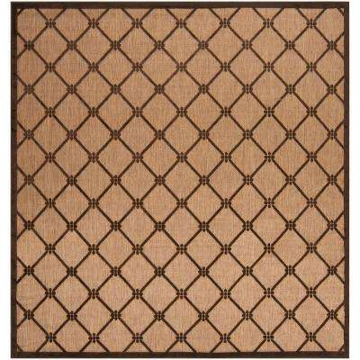 xalapa Natural 8 ft. x 8 ft. Square Area Rug