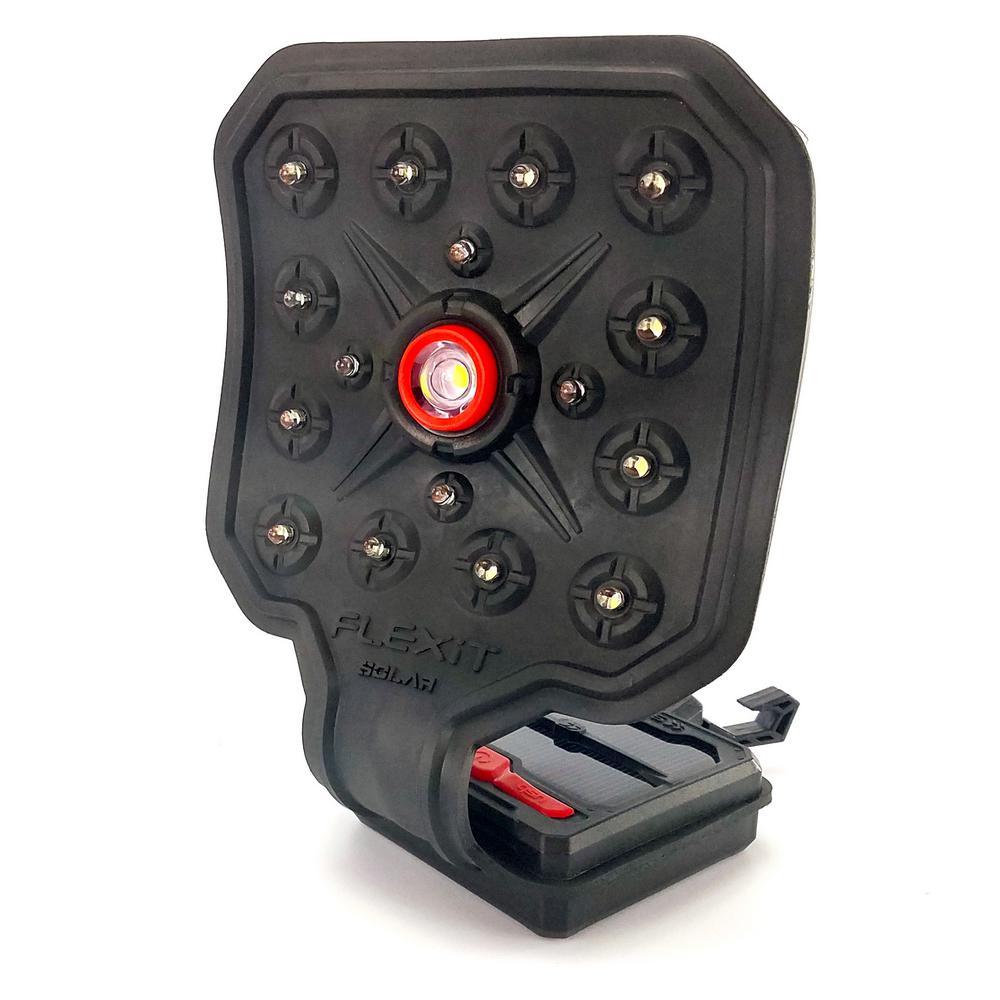 FLEXiT Solar- 500 Lumen LED Solar Flexible Flashlight