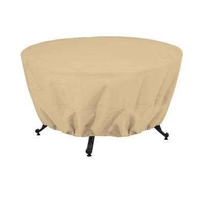 Terrazzo 42 in. Round Fire Pit Table Cover