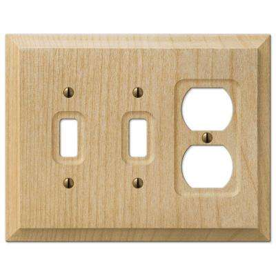 baker 2 toggle 1 duplex wall plate