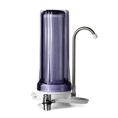 Countertop Multi Filtration Drinking Water Filter Dispenser in Clear