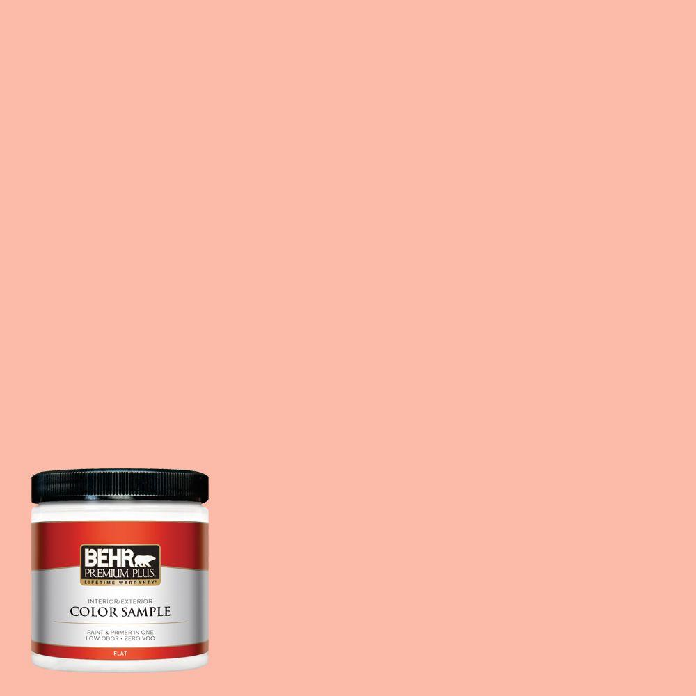 8 oz. #200A-3 Blushing Apricot Interior/Exterior Paint Sample
