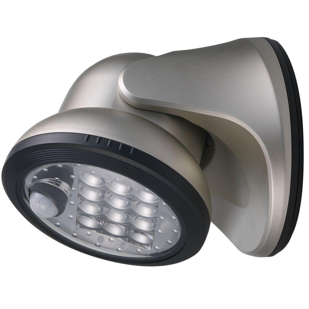 Light It Silver 12 Led Wireless Motion Activated