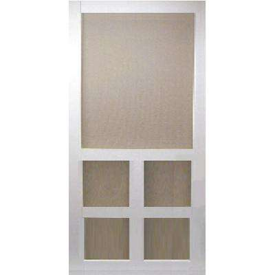 Screen doors exterior doors the home depot - 30 x 80 exterior door with pet door ...